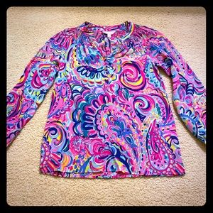 Lilly Pulitzer long sleeve top XXS